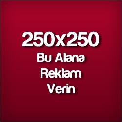 250x250 Reklam Alanı